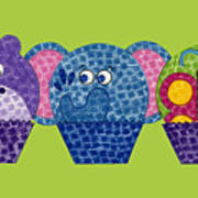 Animal Cupcakes 2 Poster