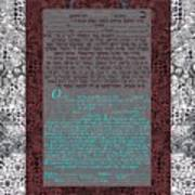 Animal  Ketubah- Reformed And Interfaith Version Poster