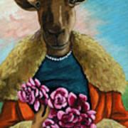 animal portrait - Flora Shepard Poster