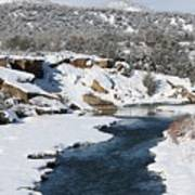 Animas River In January Poster