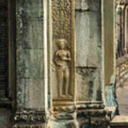 Ankgor Wat  Apsaras Poster