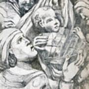 Anna, Elizabeth And Anne Poster