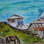 Annapurna Trekking Base Camp Poster
