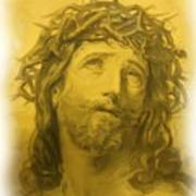 Anne Anastasi Christ Pencil Poster