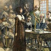 Anne Hutchinson, 1591-1643 Poster