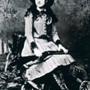 Annie Oakley  Star Of Buffalo Bill's Wild West Show Poster