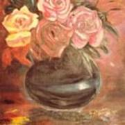 Anniversary Flowers Poster