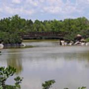 Another Bridge At The Zen Garden Poster