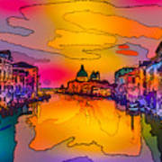 Another Surreal Venice Sunset Poster