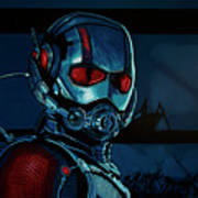 Ant Man Painting Poster