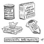 Antagonistic Baby Products Poster