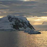 Antarctic Coast Poster