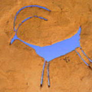 Antelope Petroglyph Poster