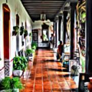 Antigua Hall Poster