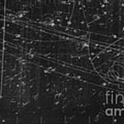 Antiproton Annihilation, Bubble Chamber Poster