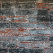 Antique Brick Wall Poster