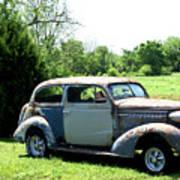 Antique Car 1 Poster by Douglas Barnett