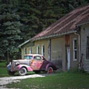 Antique Car Poster
