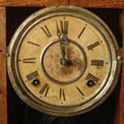 Antique Clock 3 Poster