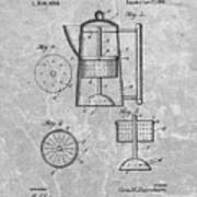 Antique Coffee Percolator Patent Poster