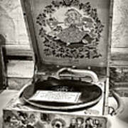 Antique Decca Gramophone By Kaye Menner Poster