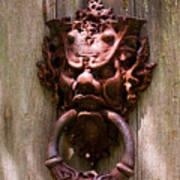 Antique Door Knocker Poster