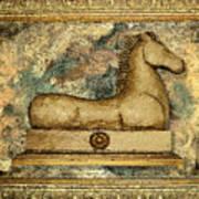Antique Equine Poster