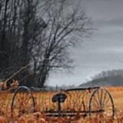 Antique Farm Equipment Poster