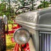Antique Ford Tractor Poster