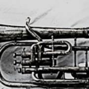 Antique Instrument  Poster