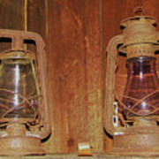 Antique Lamps Poster
