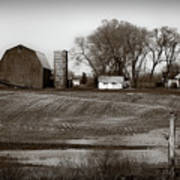 Antique Michigan Farm Poster