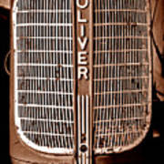 Antique Oliver 70 Poster