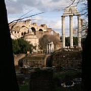 Antique Rome Poster