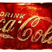 Antique Soda Cooler 2a Poster