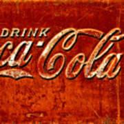 Antique Soda Cooler 3 Poster