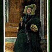 Antique Tibetan Lama Poster