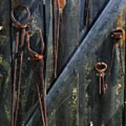 Antique Tools Poster