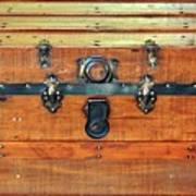 Antique Trunk Poster