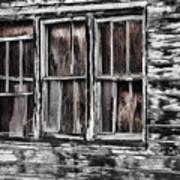 Antique Windows Poster