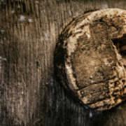 Antique Wine Barrel Cork Poster