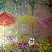 Antoinette's Flowers Poster