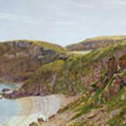 Antsey's Cove South Devon Poster