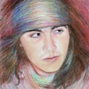 Apache Boy Poster