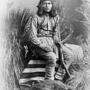 Apache Leader, 1885 Poster