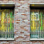 Apartment Window Poster