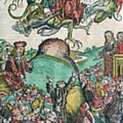 Apocalypse, Nuremberg Chronicle, 1493 Poster