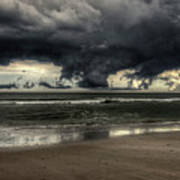 Apocalyptic Clouds Over The Atlantic Poster