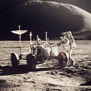 Apollo 15, 1971 Poster