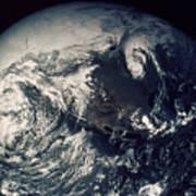 Apollo 16: Earth Poster